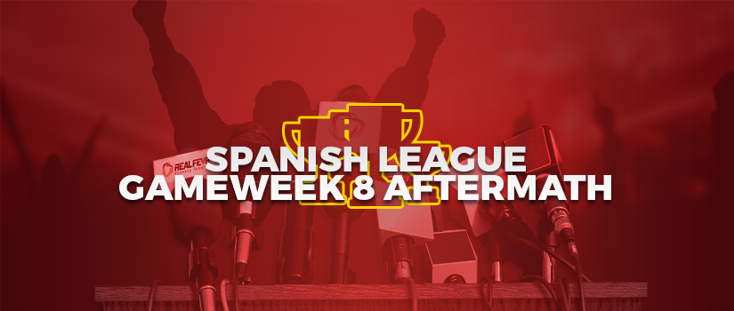 Spanish League - Game-Week 8 Aftermath